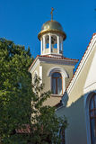Bell tower of the church of St. George, Bulgaria Royalty Free Stock Photos