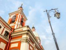 Church of St. Panteleimon the Healer, Saint Petersburg, Russia stock images