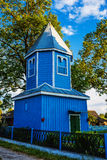 Bell tower of church of St. Paraskeva in Divin Royalty Free Stock Photos
