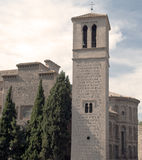 Bell tower of the Church of Toledo Stock Photo