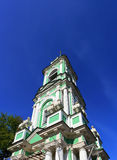 Bell tower with columnes Royalty Free Stock Photos