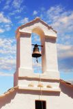 Bell tower detail of a church in Skopelos Town Stock Image