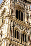 Bell tower and dome of the cathedral of Florence. Royalty Free Stock Image