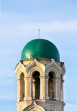 Bell tower with a dome Stock Image