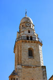 Bell Tower of Dormition abbey, Jerusalem Stock Photos