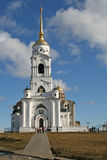The bell tower of the Dormition Cathedral (Assumption Cathedral) in Vladimir, Russia Stock Photography