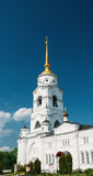 The bell tower of the Dormition Cathedral, Vladimir. Russia. Stock Photography