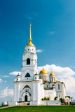 The bell tower of the Dormition Cathedral Royalty Free Stock Image
