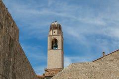 Bell Tower in Dubrovnik, Croatia Stock Image