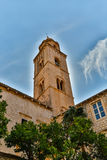 Bell Tower in Dubrovnik Royalty Free Stock Image