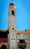 Bell Tower, Dubrovnik (Ragusa). Royalty Free Stock Images