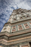 Bell tower of the Duomo in Florence Royalty Free Stock Photography