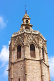 Bell Tower El Miguelete with observation deck. Royalty Free Stock Photos