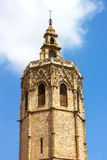 Bell Tower El Miguelete with observation deck. Royalty Free Stock Photo