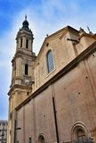 Bell tower of el pilar, Zaragoza Stock Photography