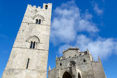 Bell tower in Erice Royalty Free Stock Image
