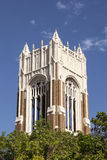 The bell tower of First United Methodist Church in Dallas Stock Image