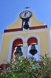 Bell tower in Fiskardo Stock Images