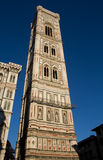 Bell Tower of the Florence cathedral Royalty Free Stock Photos