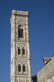 Bell tower of Florence Cathedral Stock Images