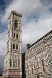 Bell Tower of Florence Cathedral Stock Image
