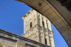 Bell-tower fragment Stock Photo