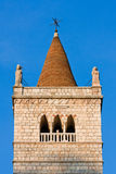 The bell tower of Gemona del Friuli Stock Photos