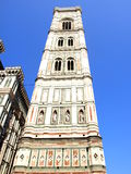 Bell tower of Giotto in Florence, Italy Royalty Free Stock Photo