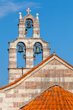Bell tower in the Gradiste monastery Stock Image