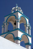 Bell tower in Greece Royalty Free Stock Photos