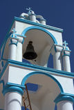 Bell tower in Greece Royalty Free Stock Photo