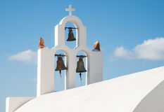 Bell tower at Greek Orthodox Church Royalty Free Stock Image