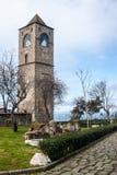 Bell tower of Hagia Sophia church Stock Photos