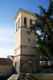 Bell Tower in Herceg Novi. Campanile Church of St. Jerome in the old town (Herceg Novi, Montenegro Royalty Free Stock Photo