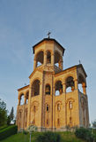 Bell tower of Holy Trinity Cathedral of Tbilisi Royalty Free Stock Photo