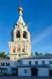 The bell tower of Holy Trinity nunnery of Murom, Russia Stock Image