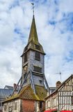 Bell tower, Honfleur. Bell tower of the Church of Saint Catherine, Honfleur, France royalty free stock image