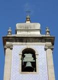 Bell tower of Igreja De Mafamude Stock Images