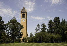 Bell Tower at Iowa State University Stock Photo