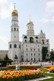 Bell-Tower of Ivan the Great in Kremlin Stock Image