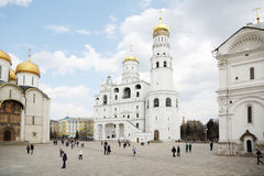 Bell tower Ivan Great in Mocsow, Russia. Royalty Free Stock Images