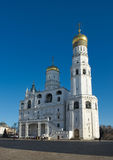 Bell Tower Ivan the Great in Moscow Kremlin Stock Photo