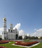 Bell Tower Of Ivan The Great, Moscow, Kremlin. Stock Photos