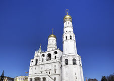 Bell tower of Ivan the Great. Stock Image