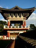 Bell Tower Jeju Island Temple Stock Photography