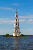 The bell tower Kalyazin Stock Image
