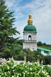 The bell tower in Lavra Royalty Free Stock Photography