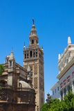 Bell tower La Giralda,  Seville, Spain Stock Images