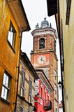 Bell tower of La Morra Royalty Free Stock Photo