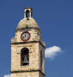 Bell tower of Manfredonia - Gargano Stock Image